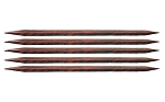 Knitter's Pride Cubics Wood 6 inch Double Point Needles