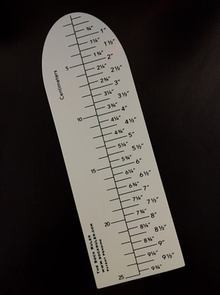 Handsome Fibers Sock Ruler