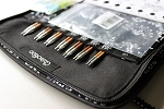 ChiaoGoo SPIN 4 Inch Bamboo Complete (US 2 - US 15) Interchangeable Knitting Set