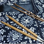 ChiaoGoo SPIN 5 inch Bamboo Large (US 9 - US 15) Interchangeable Knitting Set