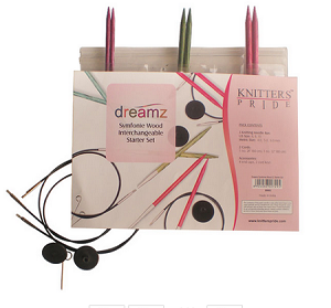 Knitters Pride Dreamz Interchangeable Knitting Needle Starter Set