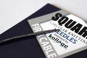 Kollage Yarns Square Circular Knitting Needles - Firm Cable