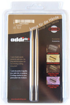addi Click Rocket Long Tips Interchangeable Knitting Needles