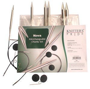 Knitters Pride Original Nova Interchangeable Knitting Needle Chunky Set