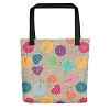 Knitting Tote Bag (Version A) by Handsome Fibers