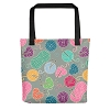 Knitting Tote Bag (Version C) by Handsome Fibers