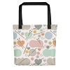 Knitting Tote Bag (Version D) by Handsome Fibers