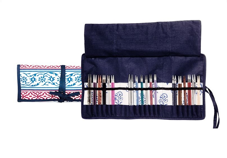 Knitter's Pride Fabric Needle Cases - Interchangeable Needle Storage