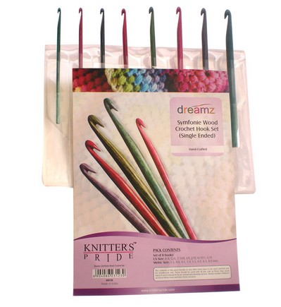 Knitter's Pride Dreamz Crochet Hook Set Single Ended