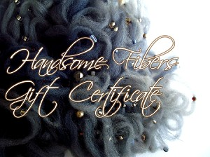 Handsome Fibers Gift Certificates
