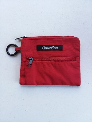 ChiaoGoo Red Shorties Accessory Pocket Pouch