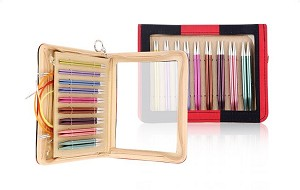 Knitter's Pride Zing Deluxe Long Tip Interchangeable Knitting Set
